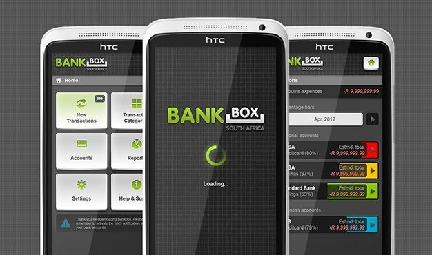 BankBox - Expense tracking. BankBox automatically analyses your bank's notification text messages, it takes all the effort out of tracking expenses and incomes. BankBox provides an instant overview of your spending trends, incomes and latest account balances without you having to manually record your transactions. All it requires is one easy set-up and it is ready to organise your accounts and transactions in a simple, safe and secure manner.