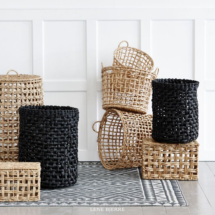 Gorgeous baskets from Lene Bjerre SS17 Collection