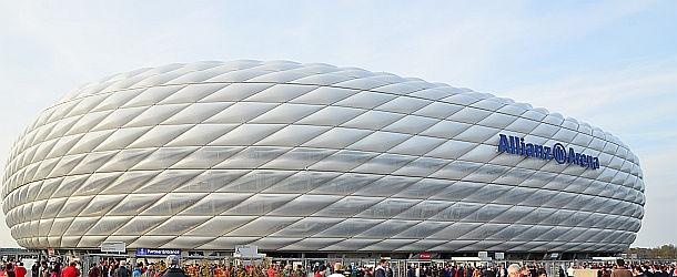 German Supercup Bayern München vs Borussia Dortmund. 12. August, um 20 Uhr Allianz Arena
