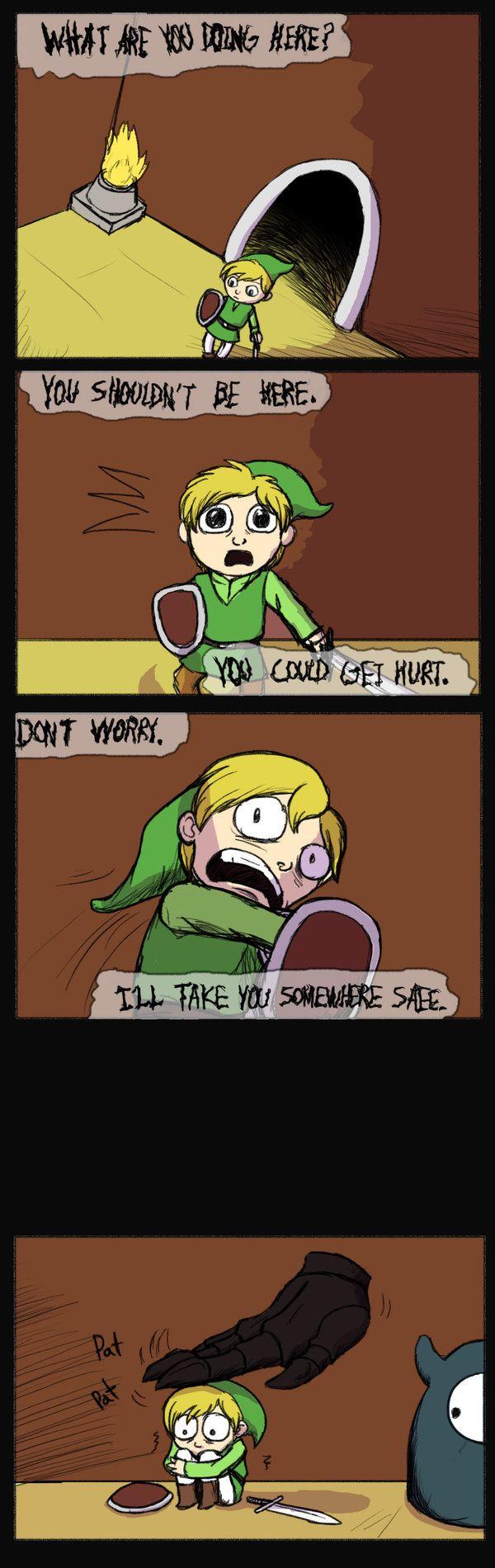 Legend of Zelda - Dungeon Keeper by Pandadrake.deviantart.com on @deviantART