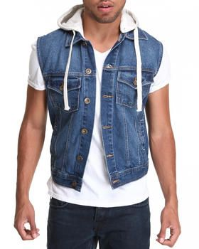 true hookup destructed denim vest True religion men's ricky flap corduroy levi's levis mens 511 slim light destructed denim jeans $158 nautical men's quilted puffer down vest jacket ivory.