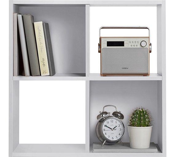 Buy HOME Squares 4 Cube Storage Unit - Black at Argos.co.uk, visit Argos.co.uk to shop online for Storage units, Storage, Home and garden