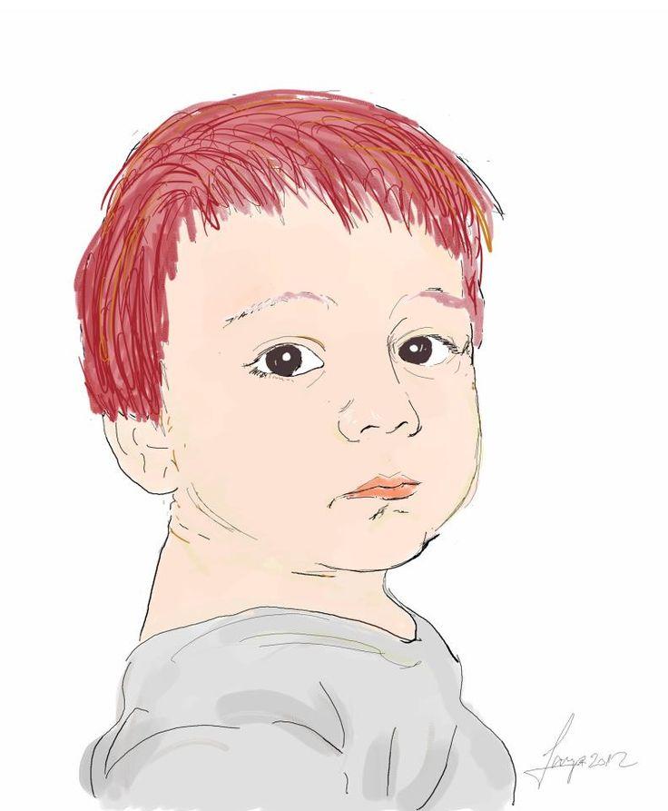 Digital painting sketch