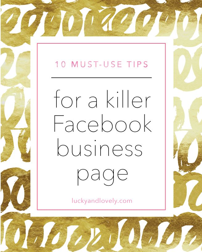 Frustrated with your facebook business page? Check out these tips on how to make…