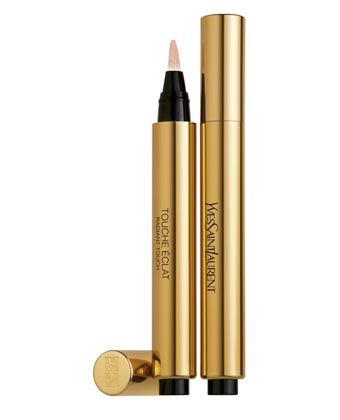 Whenever I look a little tired, or even when I don't, this magic little pen brightens up my entire complexion.  YSL Touche Eclat: what would makeup be without you?