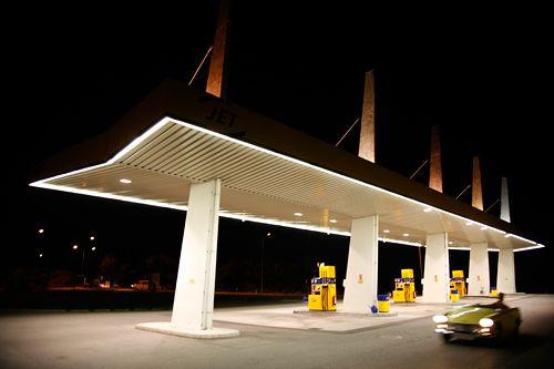 "Gas Station | Tankstelle ""Im Kobel"", Goetzis, Austria"