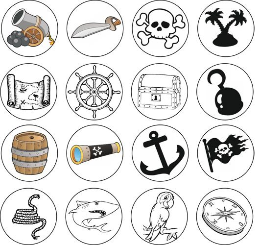 Le bateau pirate - jeu sur les inférences