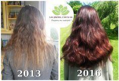"""Mon aventure capillaire : Comment j'ai retrouvé une belle chevelure - """"J'agrémente mes soins d'huiles essentielles aux différentes propriétés sur les cheveux : Romarin, Ylang Ylang, & Lemongrass pour fortifier les cheveux, Cèdre de l'Atlas & Pamplemousse contre la chute de cheveux. J'en ajoute quelques gouttes à mon shampoing ou dans mes hennés."""""""