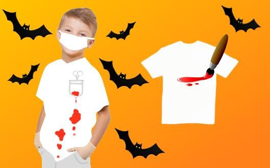 Детский костюм на хэллоуин своими рукаим