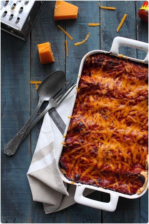 Si vous achetez vos tortillas, cette recette est extrêmement rapide à faire. Cependant, prenez le temps de lire la recette des tortillas maison car il n'y