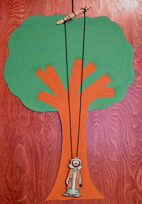 Zacchaeus Craft For Toddlers