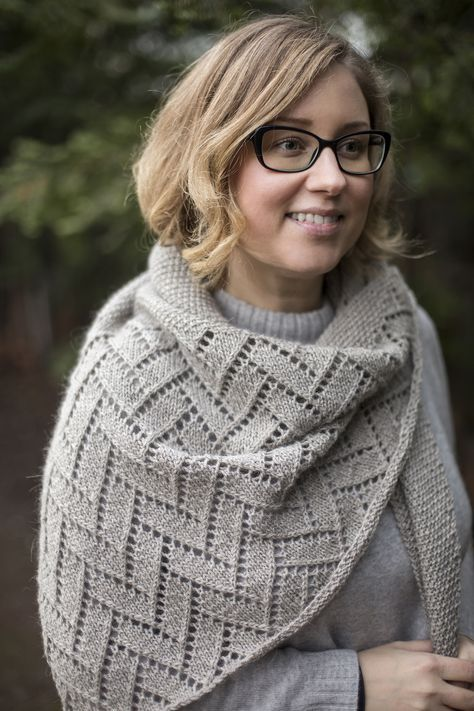 Ravelry: Bough shawl from Woolenberry.