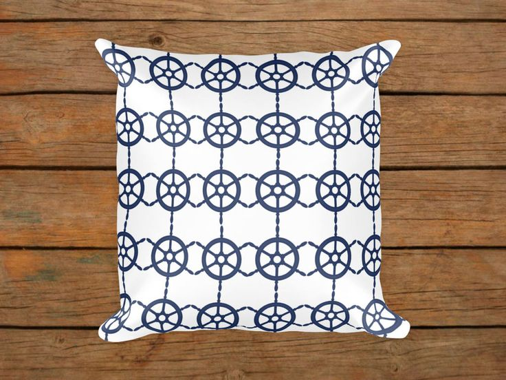 Outdoor Cushions Pillows /Navy Throw Pillow /Pillow Cushion Cover/Nautical  Cushion Pillow/