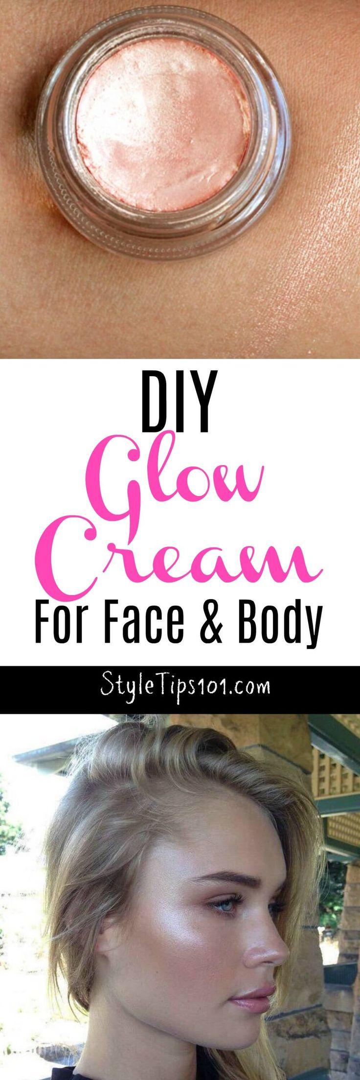 DIY Glow Cream