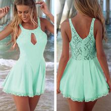 Womens Fashion Cut Out Lace Playsuit Jumpsuits SV002601 Best Buy follow this link http://shopingayo.space