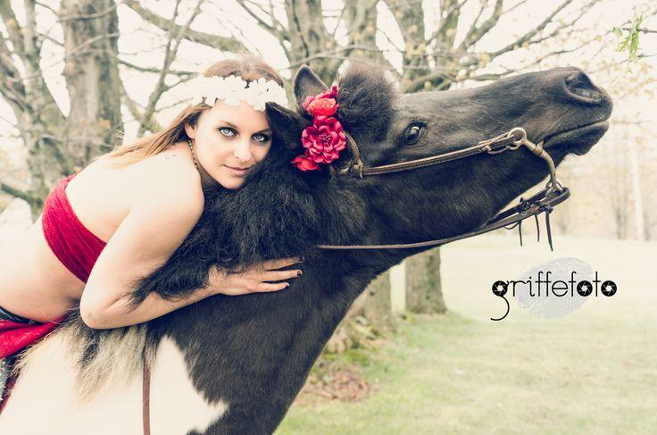 Photographie d'animaux et leur maître par Griffe Photo