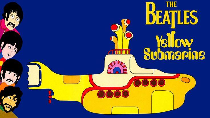 Yellow-Submarine - Classic Beatles artwork (3)