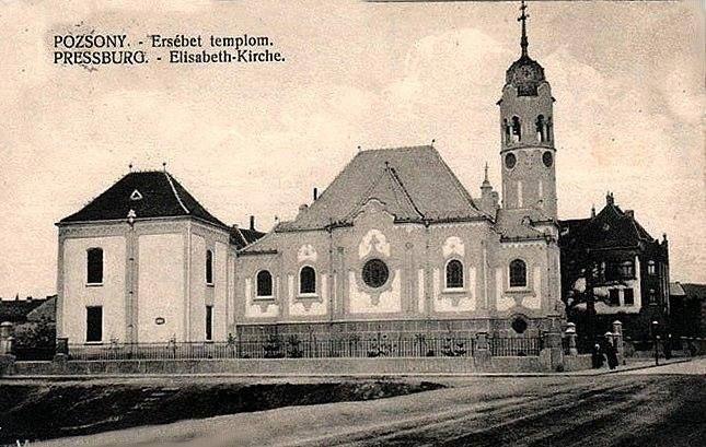 Modrý kostolík 1910