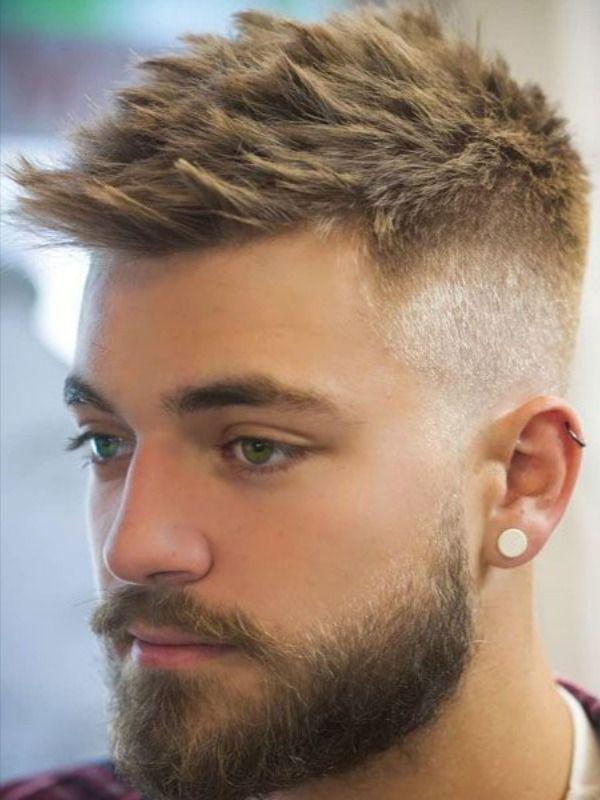 Brown Hair Men Short In 2020 Beard Styles Short Mens Hairstyles Short Mens Haircuts Short