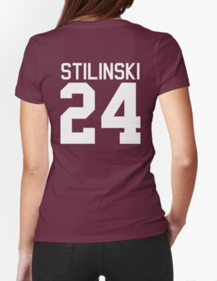Stiles Stilinski's Jersey - white text Beacon Hills Lacross Unisex Adult T-Shirt Tee Shirt
