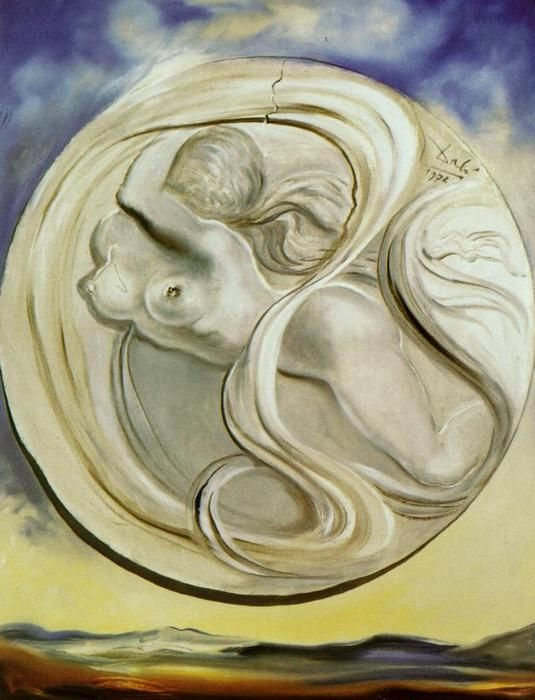 """""""Space Eve"""", 1972 by Salvador Dali (1904-1989, Spain)"""