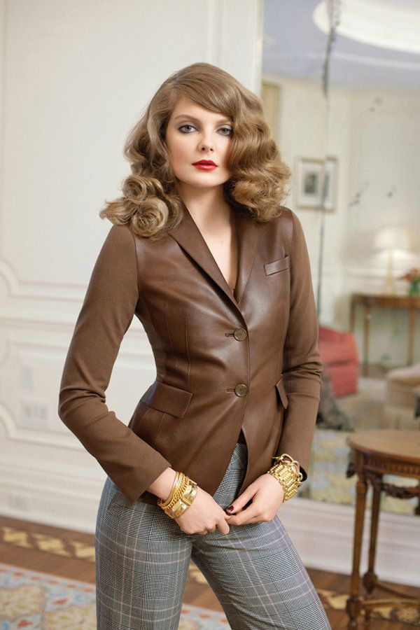 Eniko Mihalik by Max Farago for Bergdorf Goodman Pre-Fall 2011