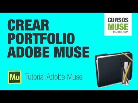 Tutorial Adobe Muse | Crear Portfolio con categorías - YouTube