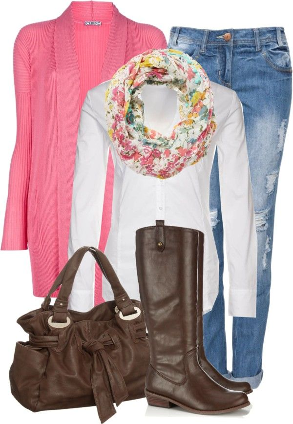 """My Staple item: Brown Riding Boots"" by jafashions on Polyvore"