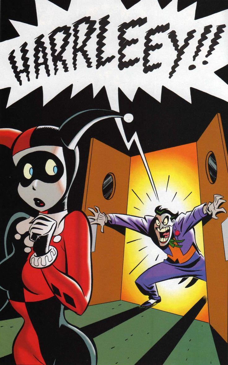 Harley Quinn in The Batman Adventures: Mad Love - Art by Bruce Timm