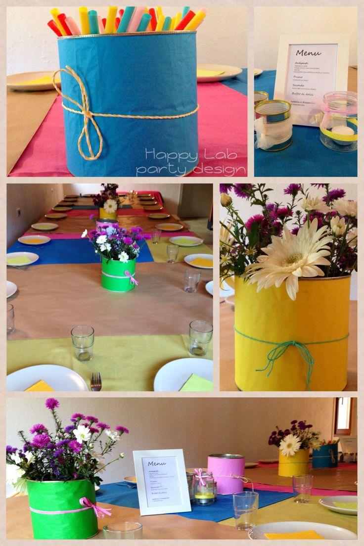 Matrimonio rustico, rustic wedding, kids table setting, tavolo bambini,