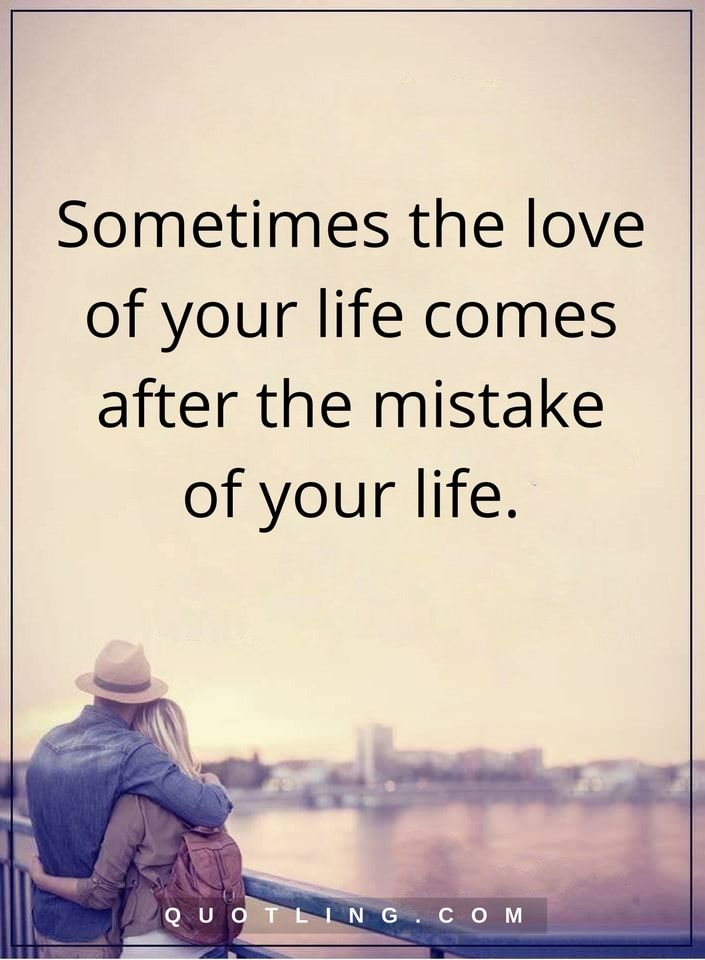 Not necessarily mistake, but life lesson.