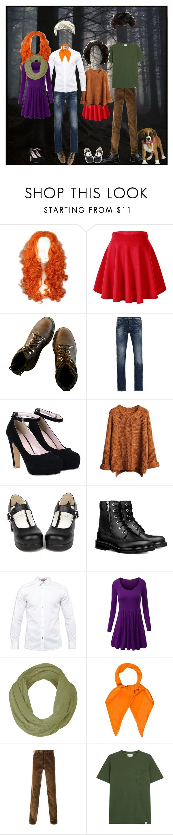 """""""Modern Meddling Kids"""" by deathrose394 ❤ liked on Polyvore featuring Merida, Armani Jeans, Ted Baker, WithChic, Louis Vuitton, Prada, Norse Projects and modern"""
