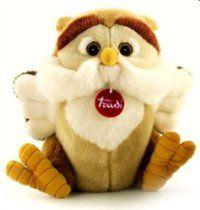 "Trudi Classic Owl Rinaldo Plush Toy, 10"""
