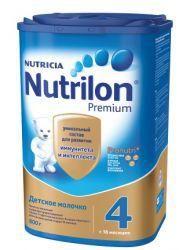 Нутрилон 4 Премиум смесь сухая молочная детская 800г  — 1097р. - Детский сухой молочный напиток Нутрилон 4 Джуниор предназначен для питания детей с 18 месяцев и старше. Когда ребенку исполнилось полтора года, малыш продолжает активно развиваться делает первые самостоятельные шаги познает окружающий мир. Иммунная система продолжает развиваться, поэтому ему необходима защита. Организм малыша в этот период очень нуждается в витаминах и сбалансированном питании, чтобы расти активным и здоровым…