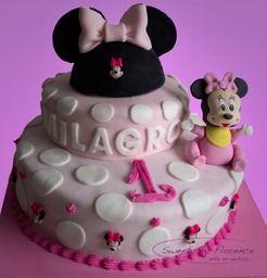 Torta Minnie mouse bebe Tortas decoradas