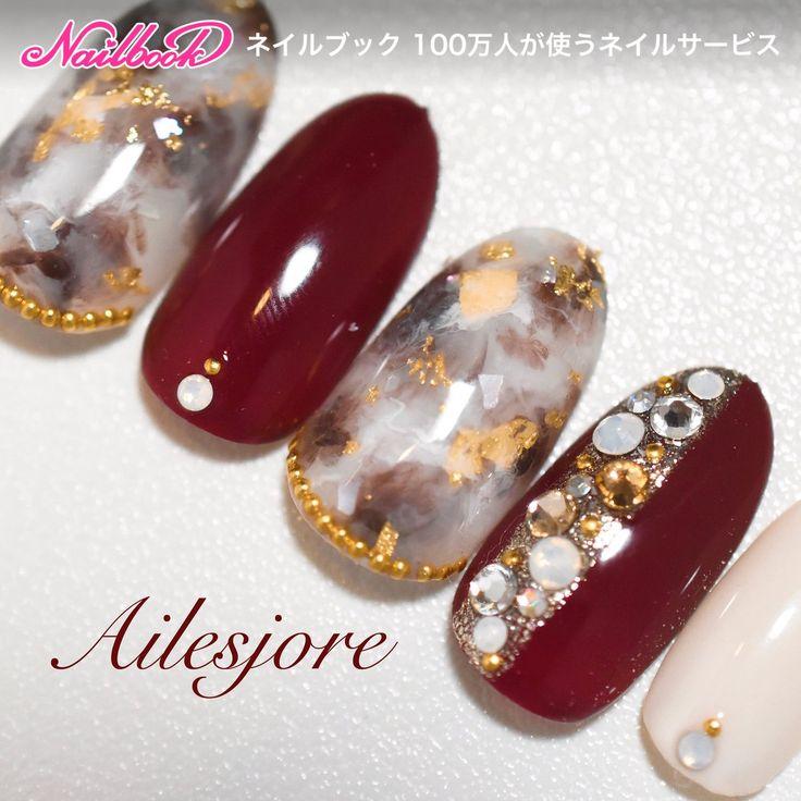 秋/冬/デート/女子会/ハンド - nailist_tsubasaのネイルデザイン[No.2547669]|ネイルブック