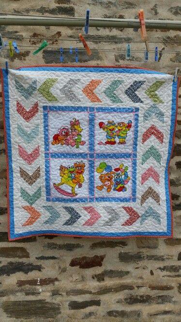Muppet quilt