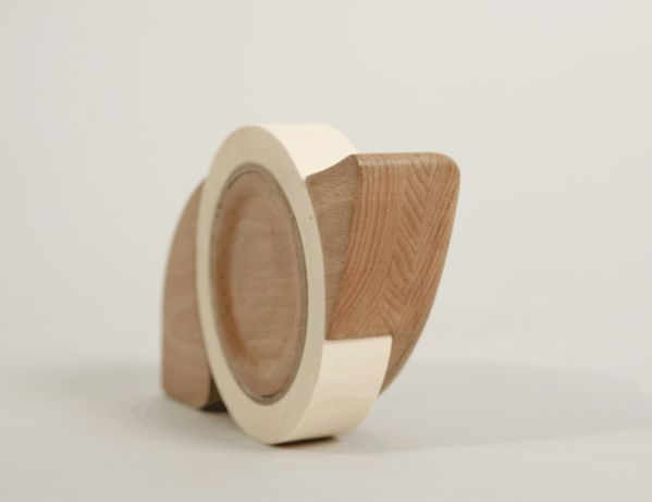 Wooden masking tape dispenser on Behance