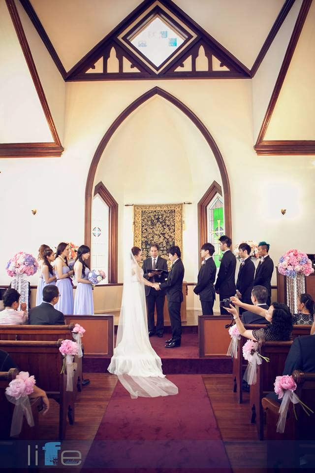 The Chapel at Minoru Park. Vancouver Best Wedding Ceremony Locations. Asian Wedding Vancouver.