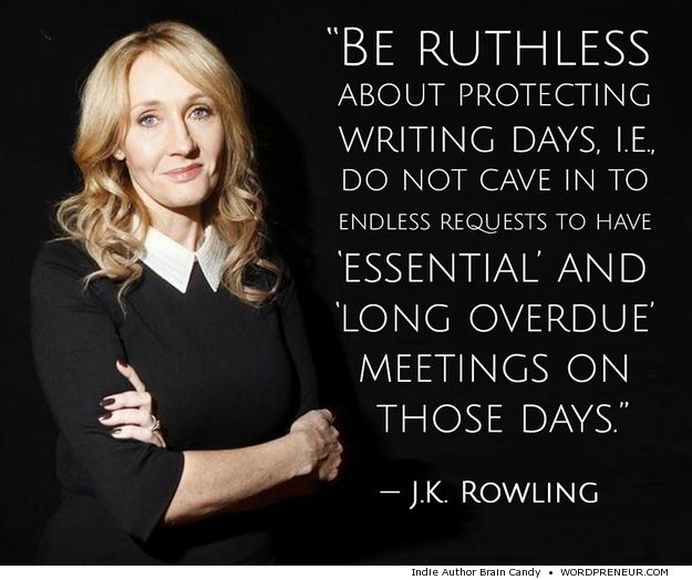 Write like jk rowling