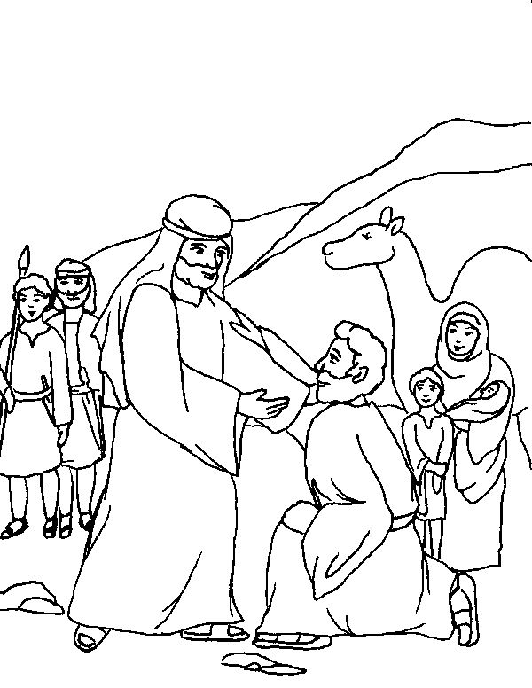 116 best Children\'s Ministry - Jacob, Esau, Leah, Rachel images on ...