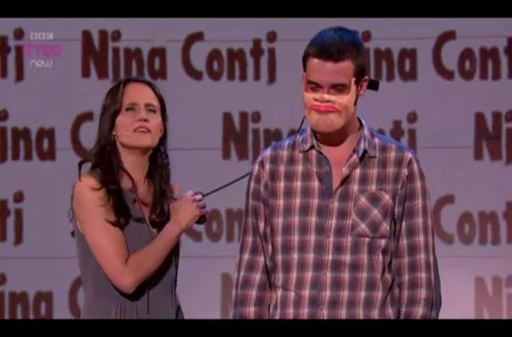 As Funny As Fuck.  Nina Conti adds an original touch to her ventriloquist performance that has her audience cracking up on all sides. Watch as the selected candidate from the crowd shows his other side with a mask.