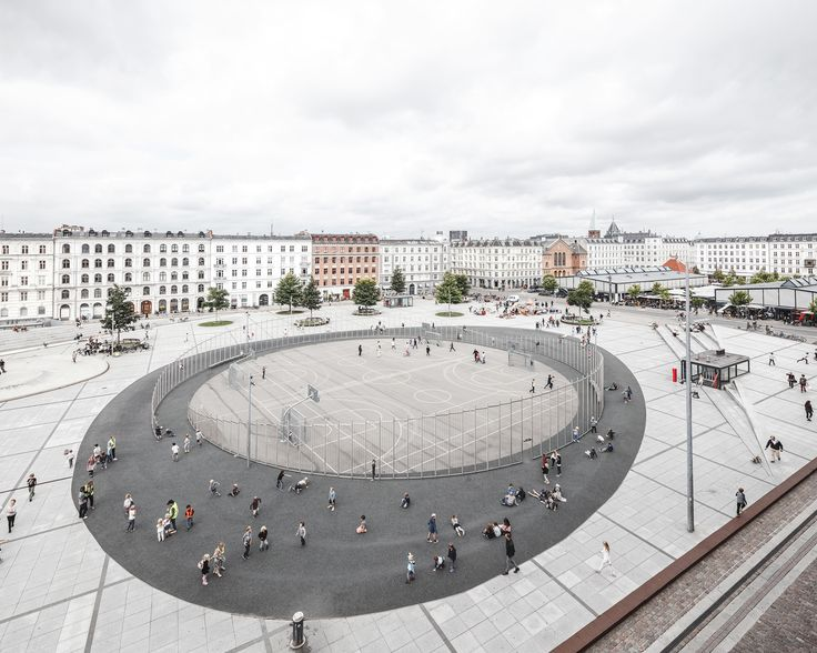 Gallery of Israels Plads Square / COBE - 1