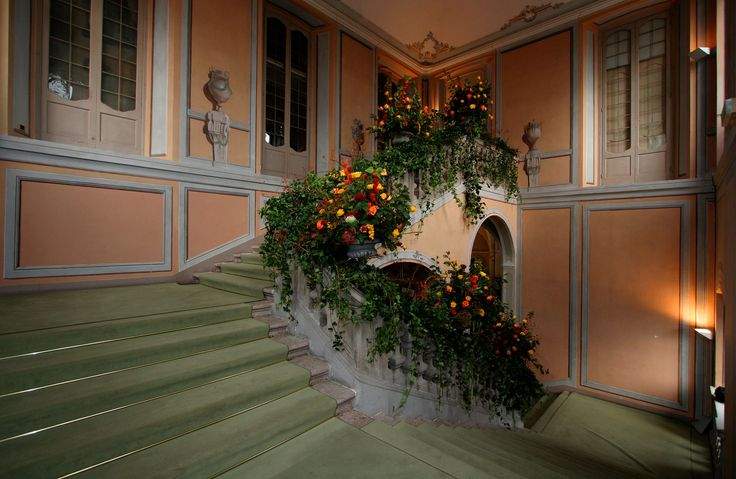 Scalinata di Villa Borromeo Cassano d'Adda Milano