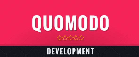 QuoModo HTML Templates Development