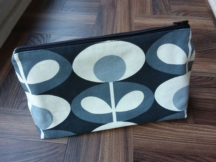 Make up bag in Orla Kiely Fabric