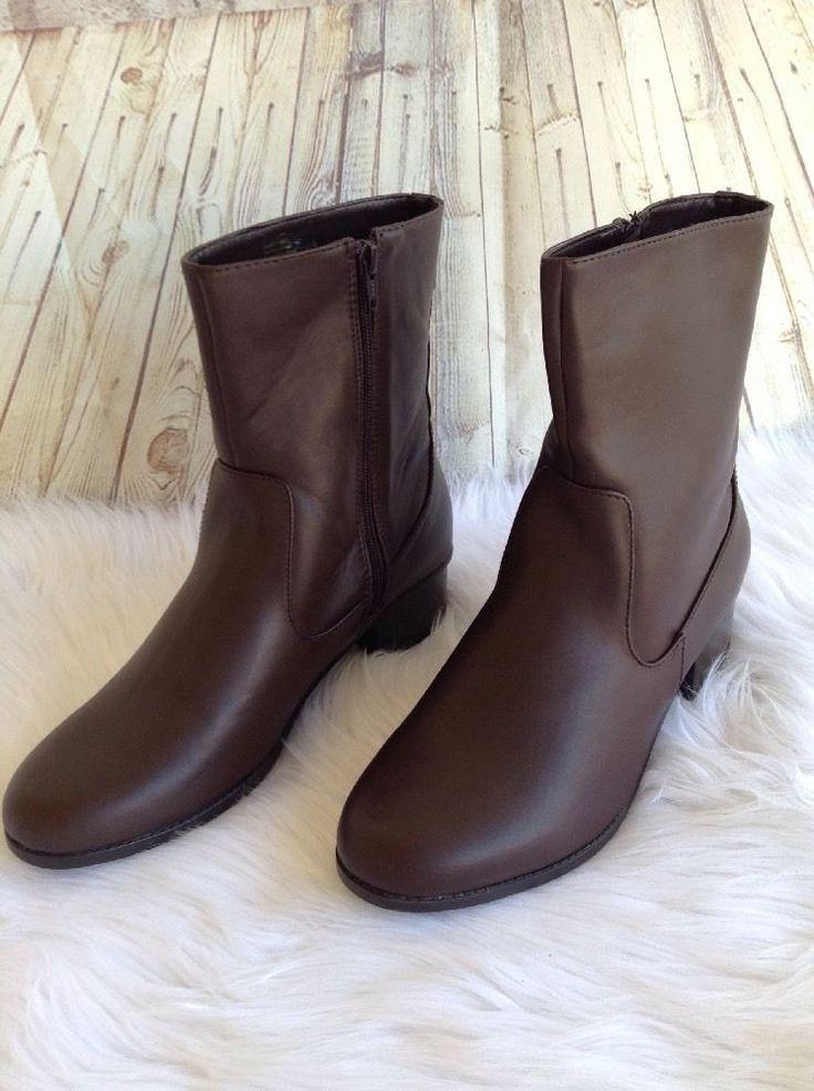 Croft And Barrow Women Black Shoes Rn