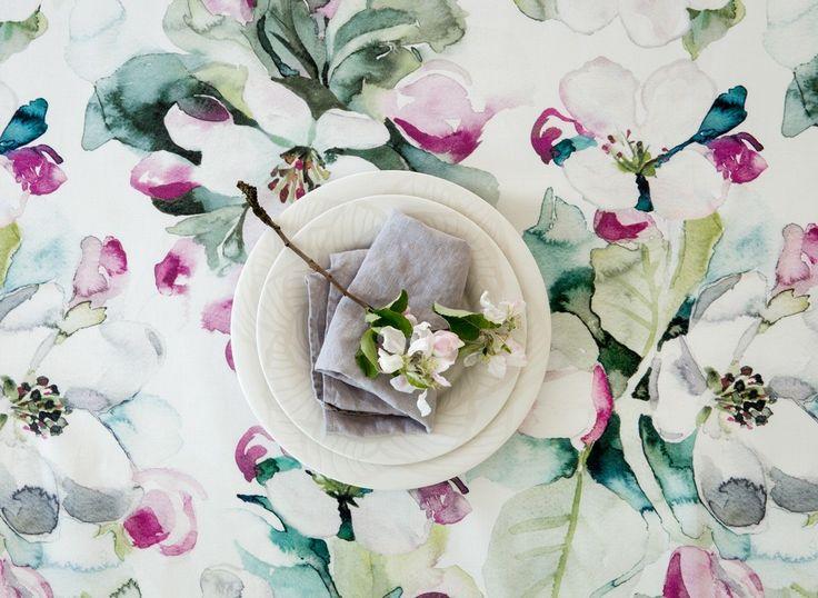Omenankukka Coated Fabric