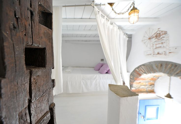 "Holidays in a #windmill, literally! Book now our ""Mill"" room: http://ow.ly/KidTE   #sifnos #cyclades #greece"