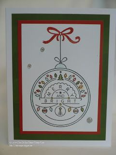 The Inky Scrapper: October Stamp of the Month Blog Hop: Christmas Tunes